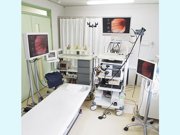【画像】内視鏡検査室