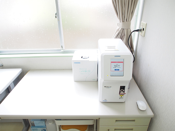 【画像】自動血球計数CRP測定装置